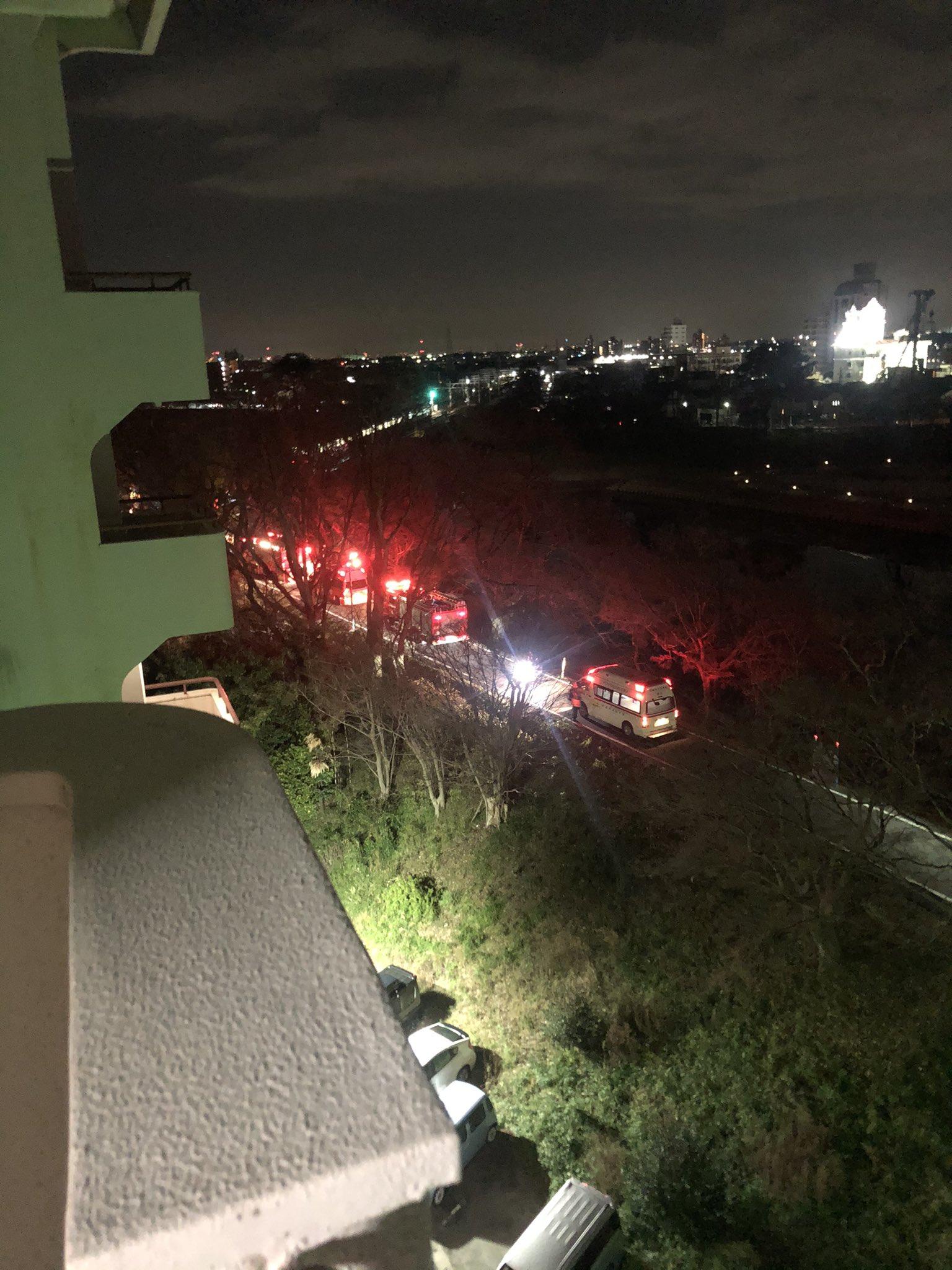 名古屋本線の岡崎公園前~東岡崎駅間で車と電車が衝突した事故現場の画像