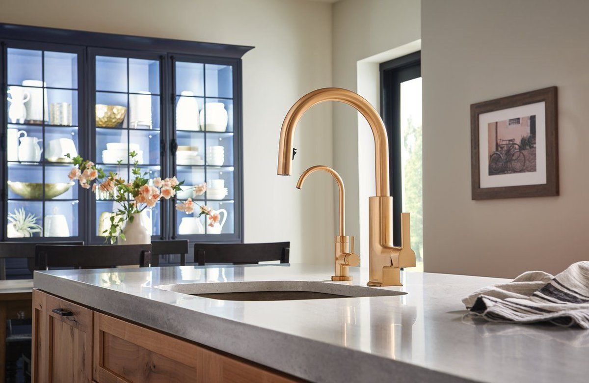 Wool Kitchen Bath On Twitter A Cold Water Tap Has Never Been More Stylish In Traditional Transitional Or Modern Styles Moen Sip Faucets Feature A High Arc Rotating Spout Https T Co Zulscrzrkc