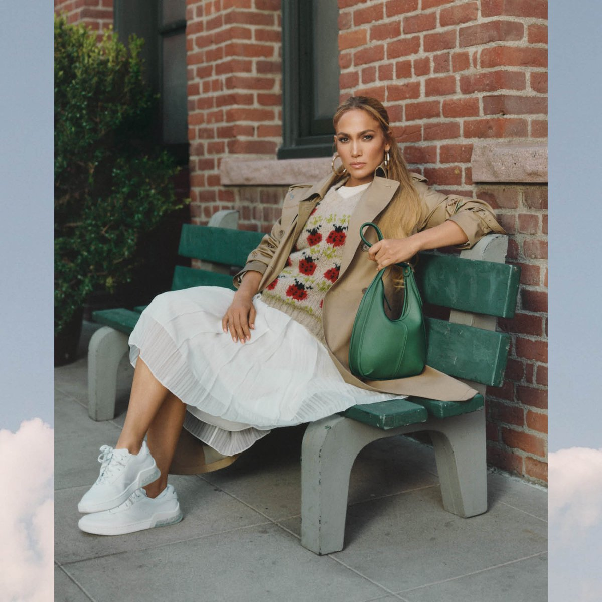 New things to love (forever). Meet the #TheErgoBag, as seen on #JenniferLopez. Inspired by an archival style & thoughtfully-reimagined for today, this over-the-shoulder bag is crafted to last. Follow along for more that says spring—🐞s included.  #CoachNY