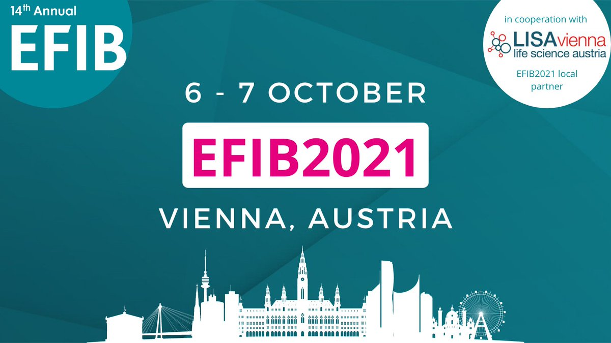 test Twitter Media - We are excited to announce the launch of #EFIB2021!   Be sure to #SaveTheDate for our 2-day conference on 6 & 7 October in Vienna, Austria 🇦🇹   We look forward to seeing you there!   Read more in our first newsletter ▶️https://t.co/vmksb4zKTd https://t.co/wBk5EsLYXz