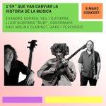 Image for the Tweet beginning: Concert de bossa nova aquest