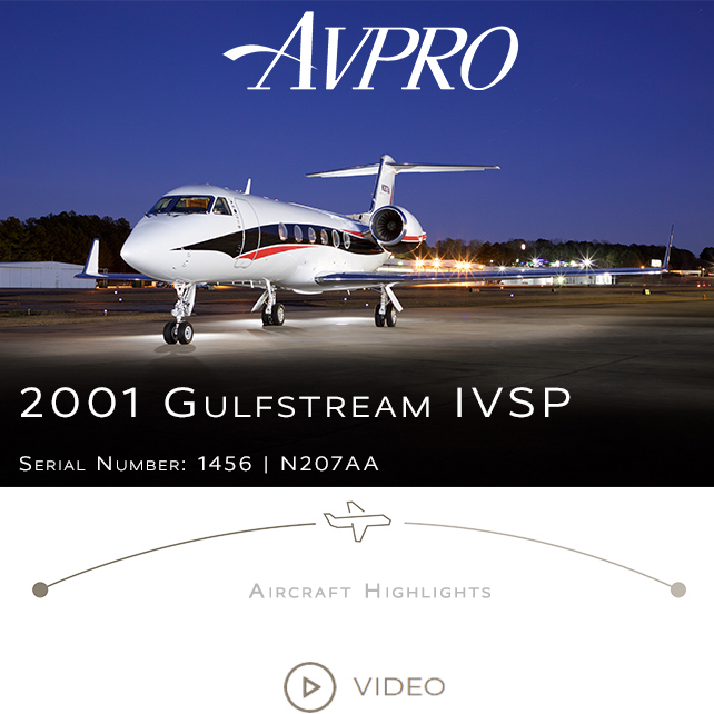 New to market - 2001 #Gulfstream #IVSP at @AvproJets  Excellent pedigree, meticulously maintained  FANS 1A, ADS-B Out, CPDLC More details at: https://t.co/Rp7RkLnxxU  #bizjet #bizav #aircraftforsale #privatejet #privateflying #jetforsale #businessaviation
