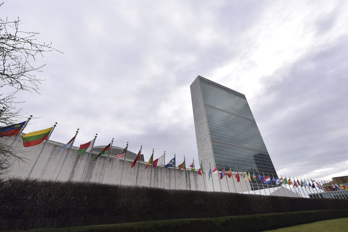 """Time for a Female UN Secretary-General?""  My @hrw colleague @heatherbarr1 weighs in on this year's election of the UN chief. She argues for competition, transparency & states to nominate female candidates to run alongside incumbent @antonioguterres."