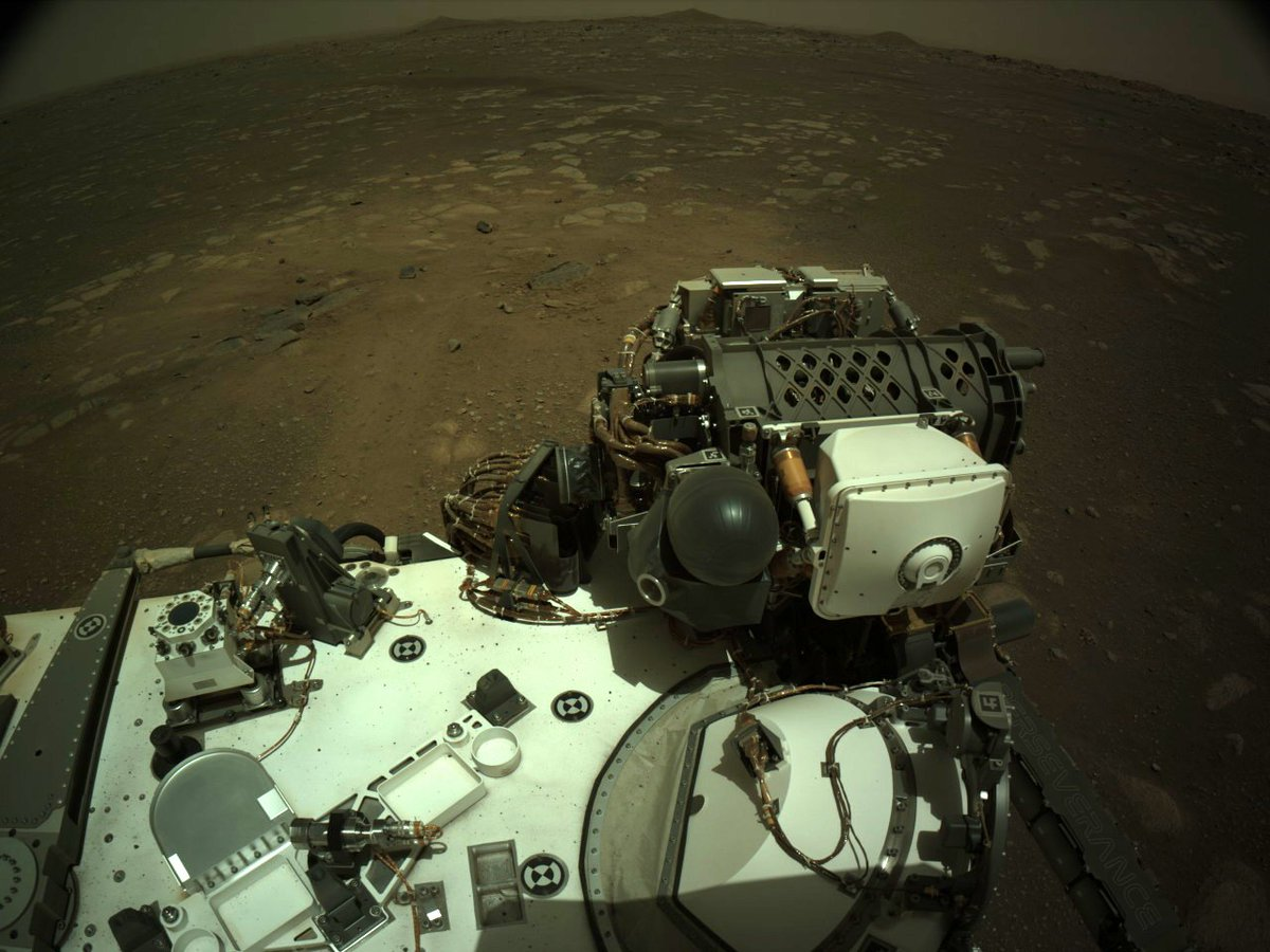 #NASApersevere Rover send 690 New images from Mars #CountdownToMars