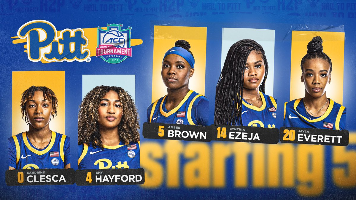 First 5️⃣ out 🆚 Boston College!  Tip is 15 minutes away in Greensboro.  #H2P // #GoBeyond https://t.co/zzKcM2Kf0w