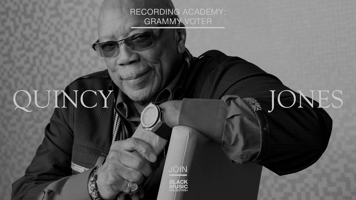 Proud member of the @RecordingAcad & the #BlackMusicCollective. Join us & help shape the future of music! We can't do it alone...Visit ➡️ grammy.com/membership