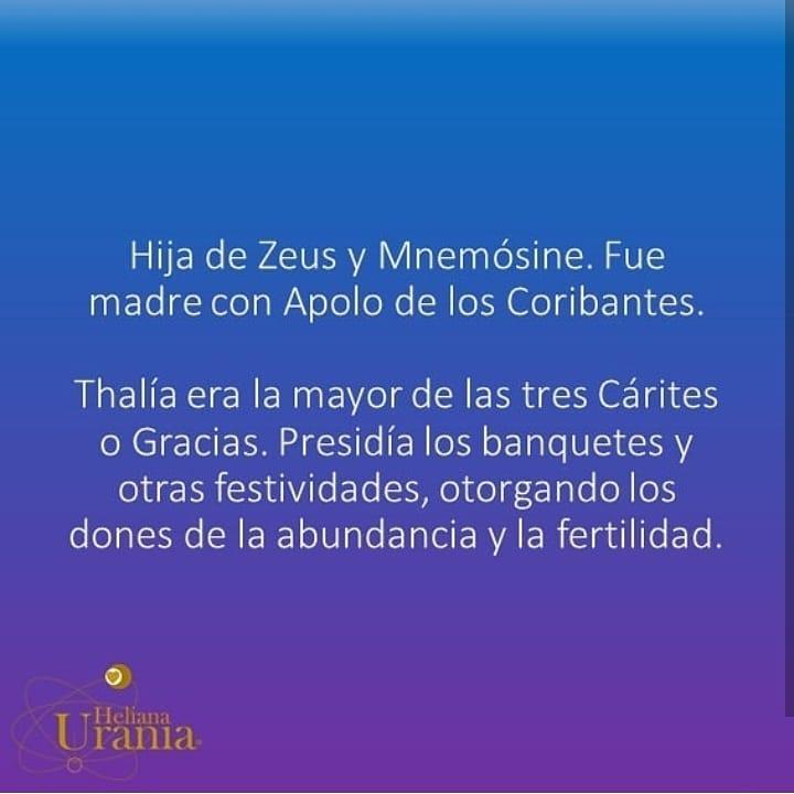 #thalia #musas