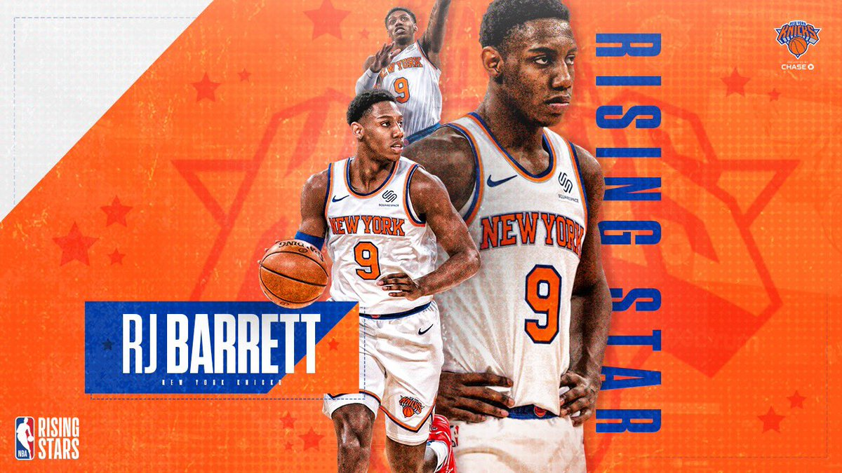 Congratulations to @RjBarrett6 on being selected as a 2021 Rising Star! 🇨🇦 #NewYorkForever https://t.co/gbInuosF3y