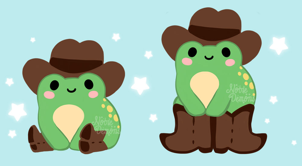 How do cowboy frogs wear their boots? 🤔🐸🤠