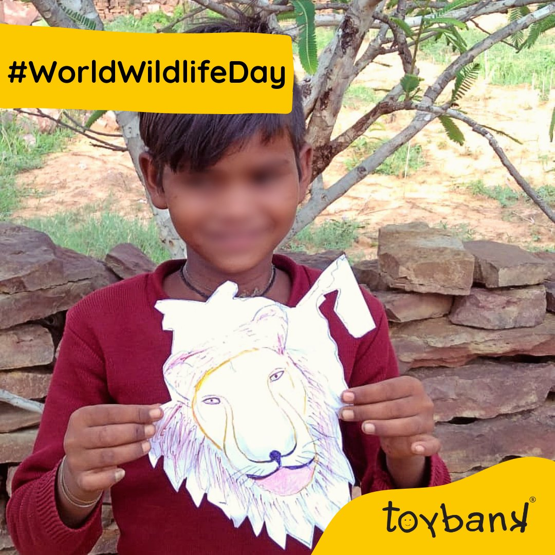 #ActionReplay on #WorldWildlifeDay, to how animal puppets activities brought smiles to our kids' faces, built their storytelling skills & kept them meaningfully engaged through the #Play2LearnKit. Grateful to our volunteer, Pranita Modi for curating—Make A Hand Puppet playsheet.