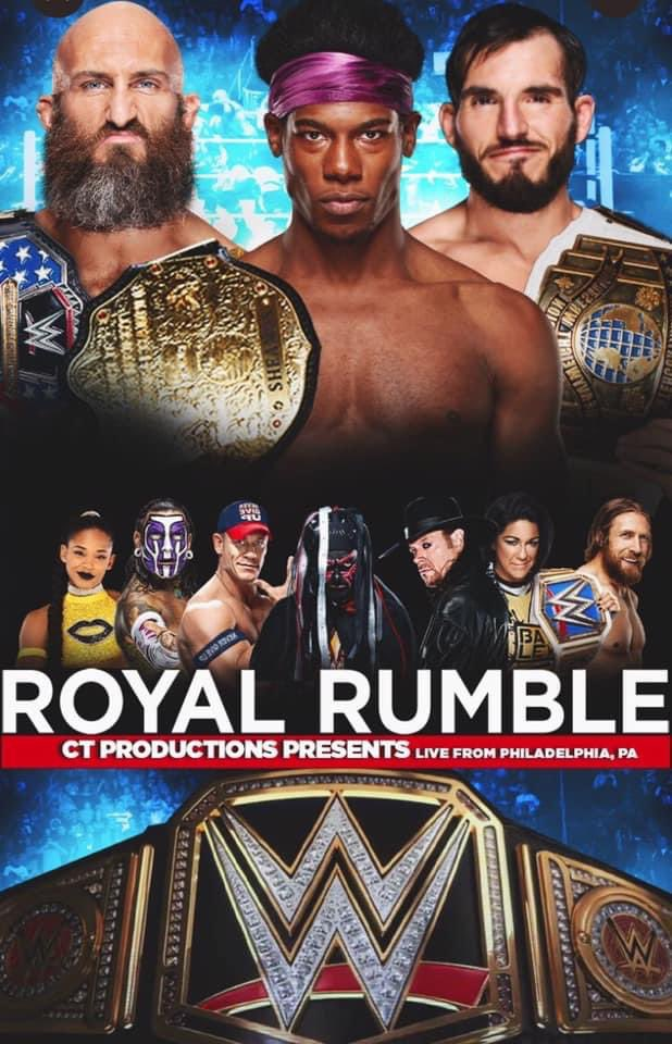 One year ago today @markwil0105 made our #CTP #RoyalRumble poster. It's crazy that on April 10th 2021 will be the 1 year anniversary of this show. One of the most ambitious Ppvs that has ever been made! Were you subbed to the channel when this made? Do you remember the show?