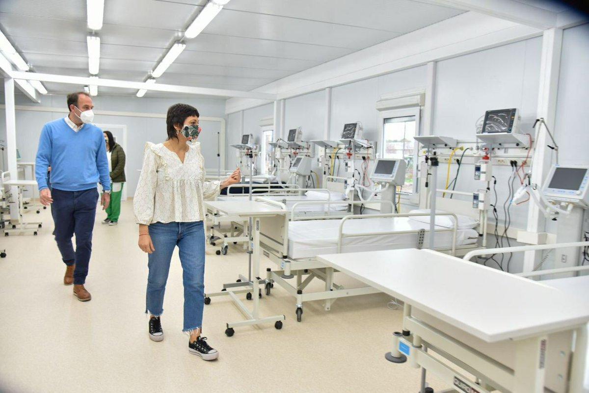 """Mayra Mendoza ☀️ on Twitter: """"Construimos un nuevo hospital, es la  ampliación de la UPA 17 en Bernal. Así incorporamos 24 nuevas camas de  terapia intensiva y 52 de terapia intermedia. En"""