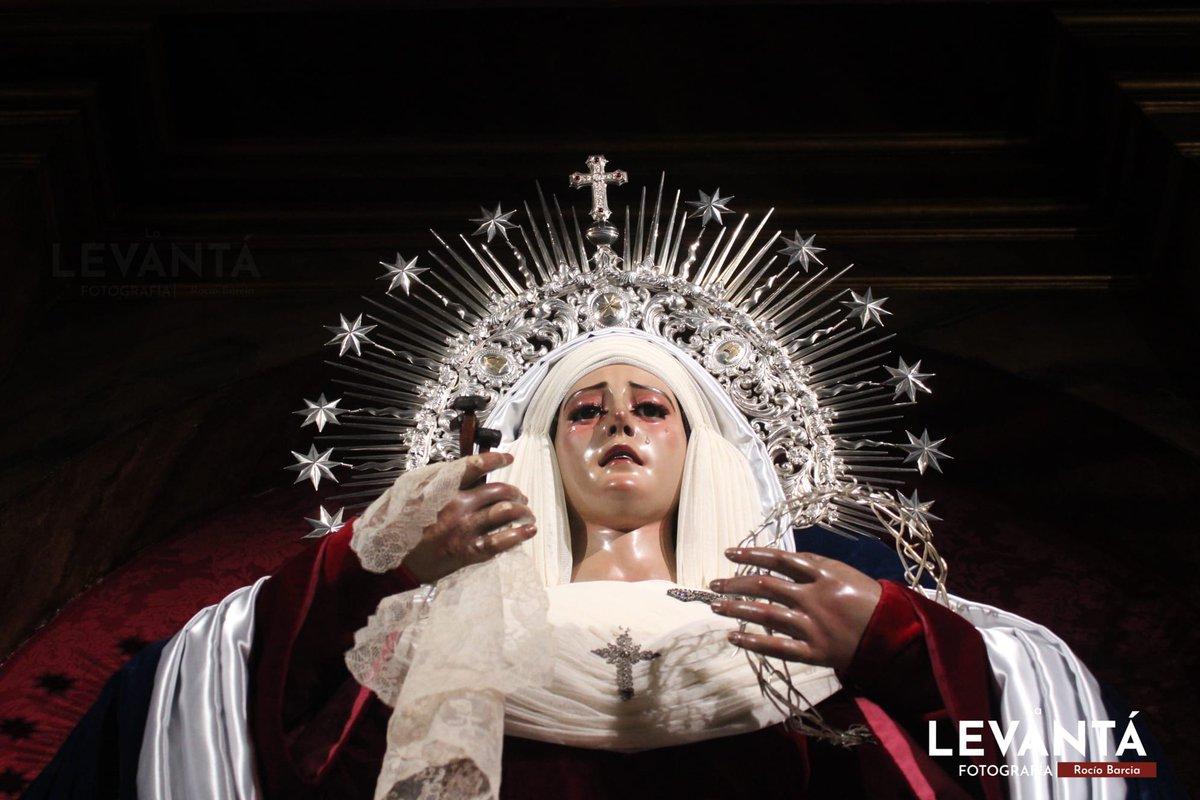 📷 SEVILLA - María se viste de hebrea, María Santísima de los Desamparados de la @HdadSanEsteban   #LaLevantaweb #photo #Cuaresma2021 #Sevilla #SanEsteban #Hebreas2021