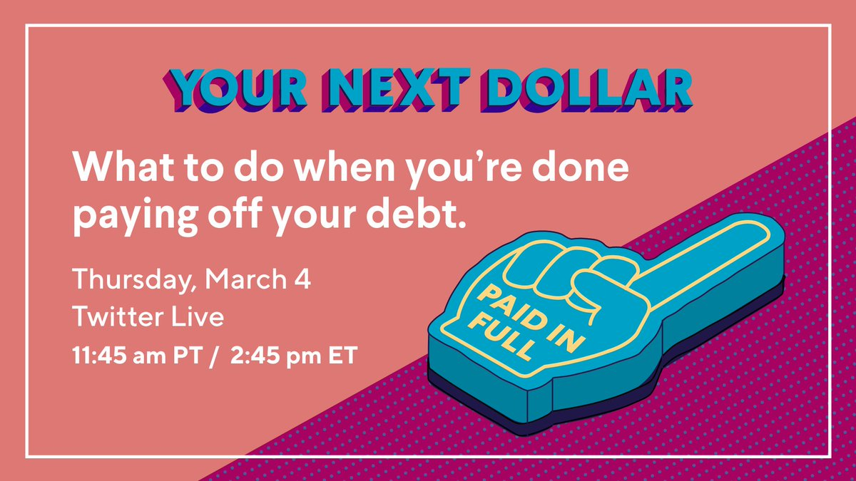 test Twitter Media - Hooray! You're out of debt...now what? When you become #debtfree, you suddenly have a lot more options with your #money, which might feel overwhelming. Join SoFi Financial Planner, Brian Walsh, to hear what to work on next. https://t.co/qOcGRA3tRt