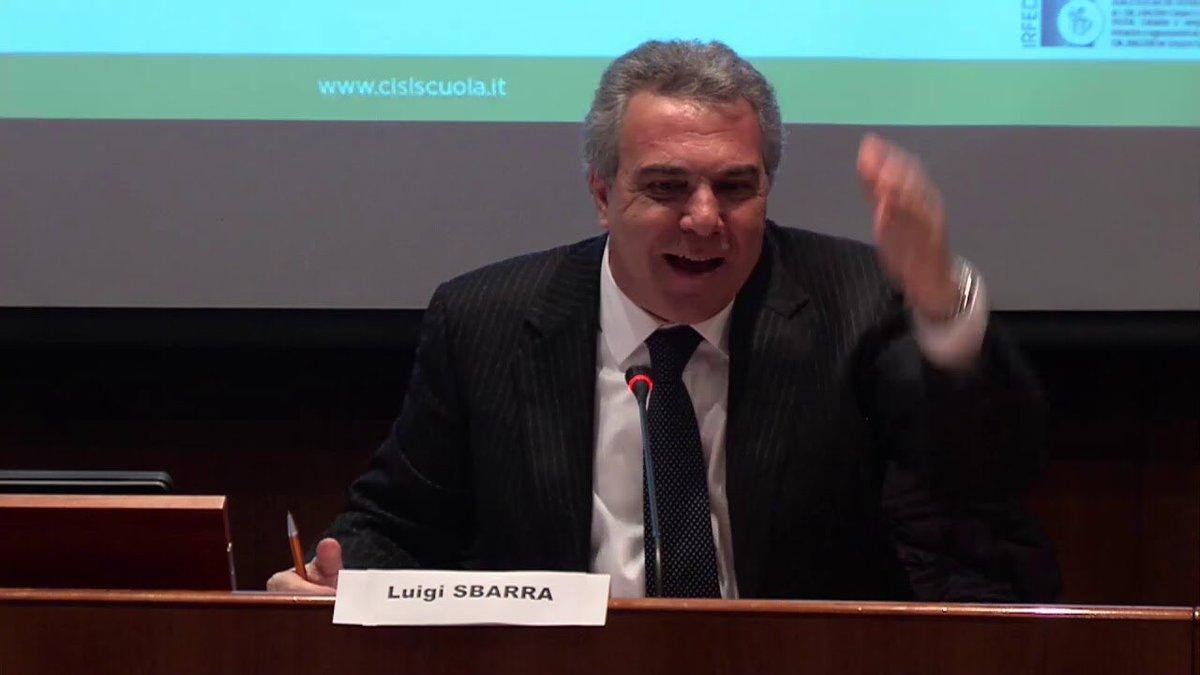 #LuigiSbarra