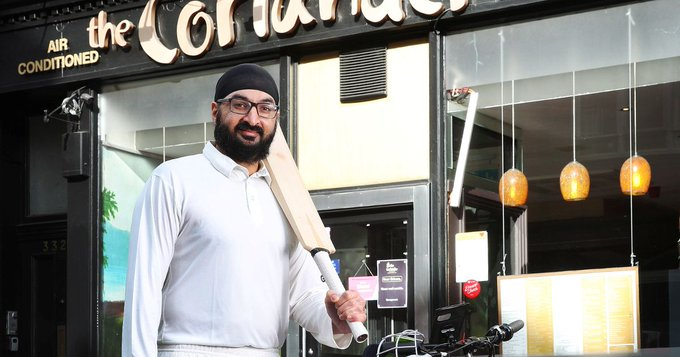 Indian restaurants and JustEat to serve from 4am for England V India cricket match Photo