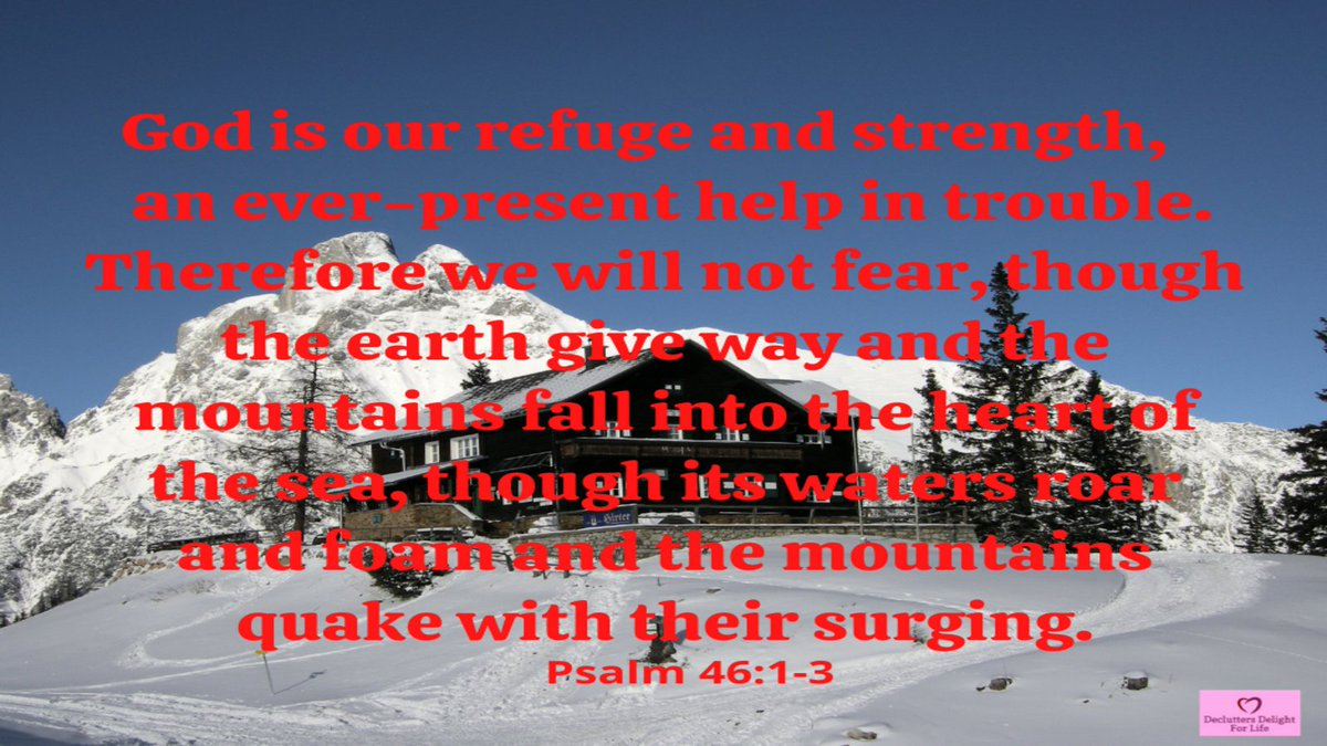 God promises to hold you securely, to be your shelter, refuge, and place of protection. No matter how the storms of life batter you, you are eternally secure with God. Nothing can ever separate you from His eternal presence. To feel safe, run to Him. #wednesdaythought #bibleverse
