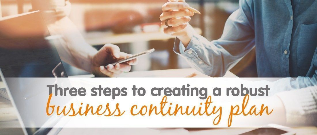 A business continuity plan outlines procedures and instructions an organisation must follow in the face of disaster. Here are three steps to create one that gives your business the best chance of surviving such an event.  #resilience #smallbusiness