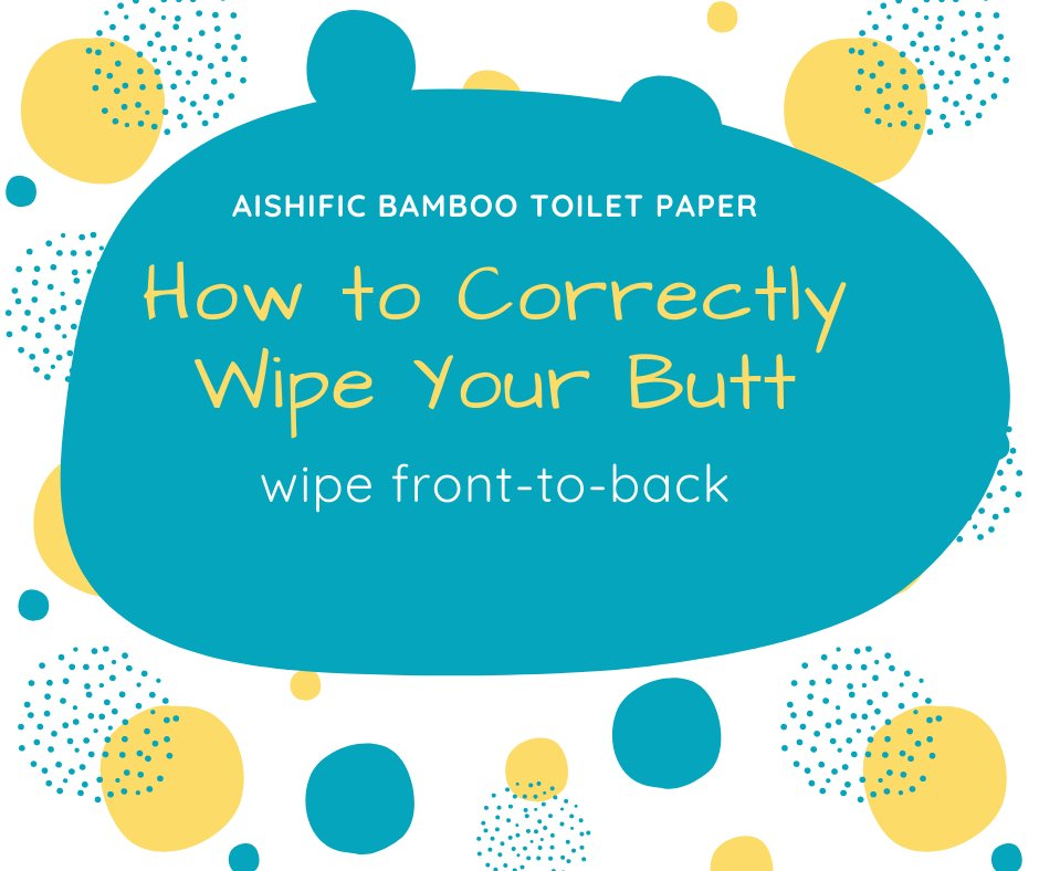 Wipe your butt with Aishific Bamboo Toilet paper. shop @  #wednesdaythought  #WednesdayMotivation, #WednesdayWisdom