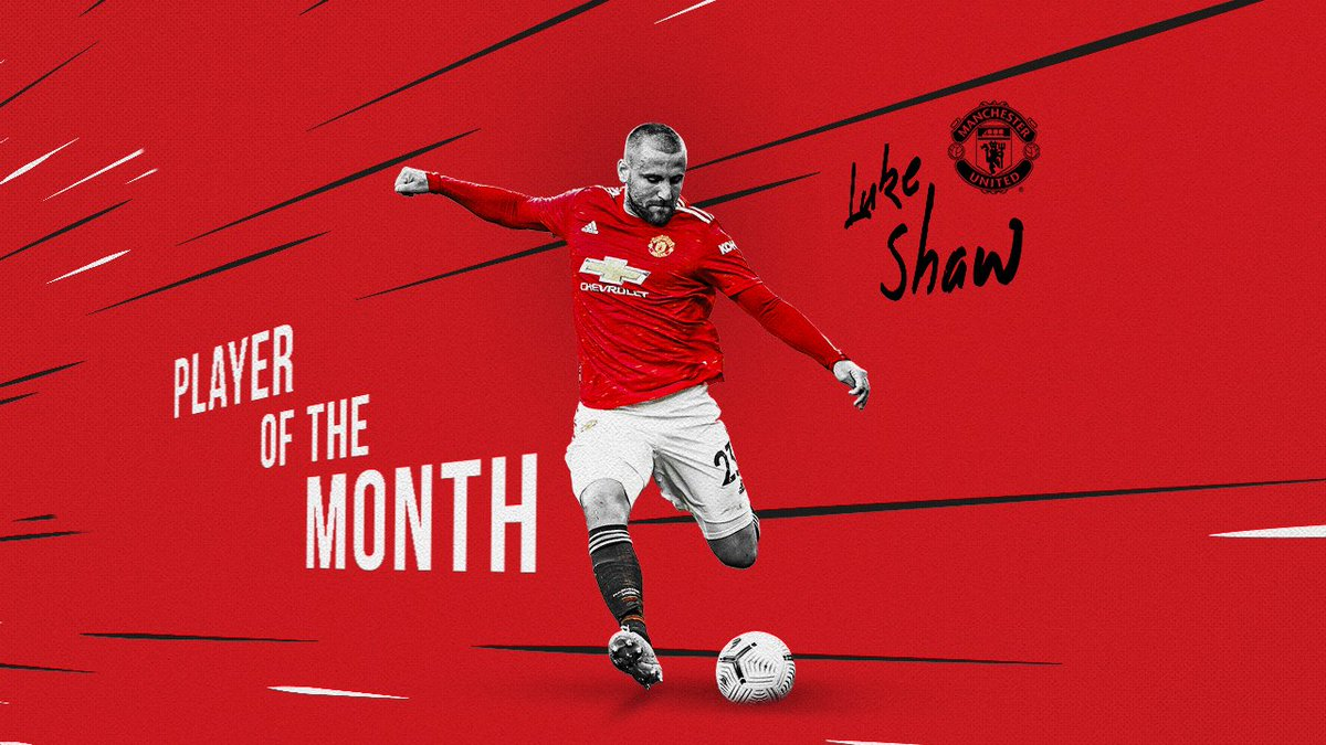 🗳️ The votes are in — @LukeShaw23 is our Player of the Month for February! 👏  #MUFC https://t.co/ENoxzqbG4l