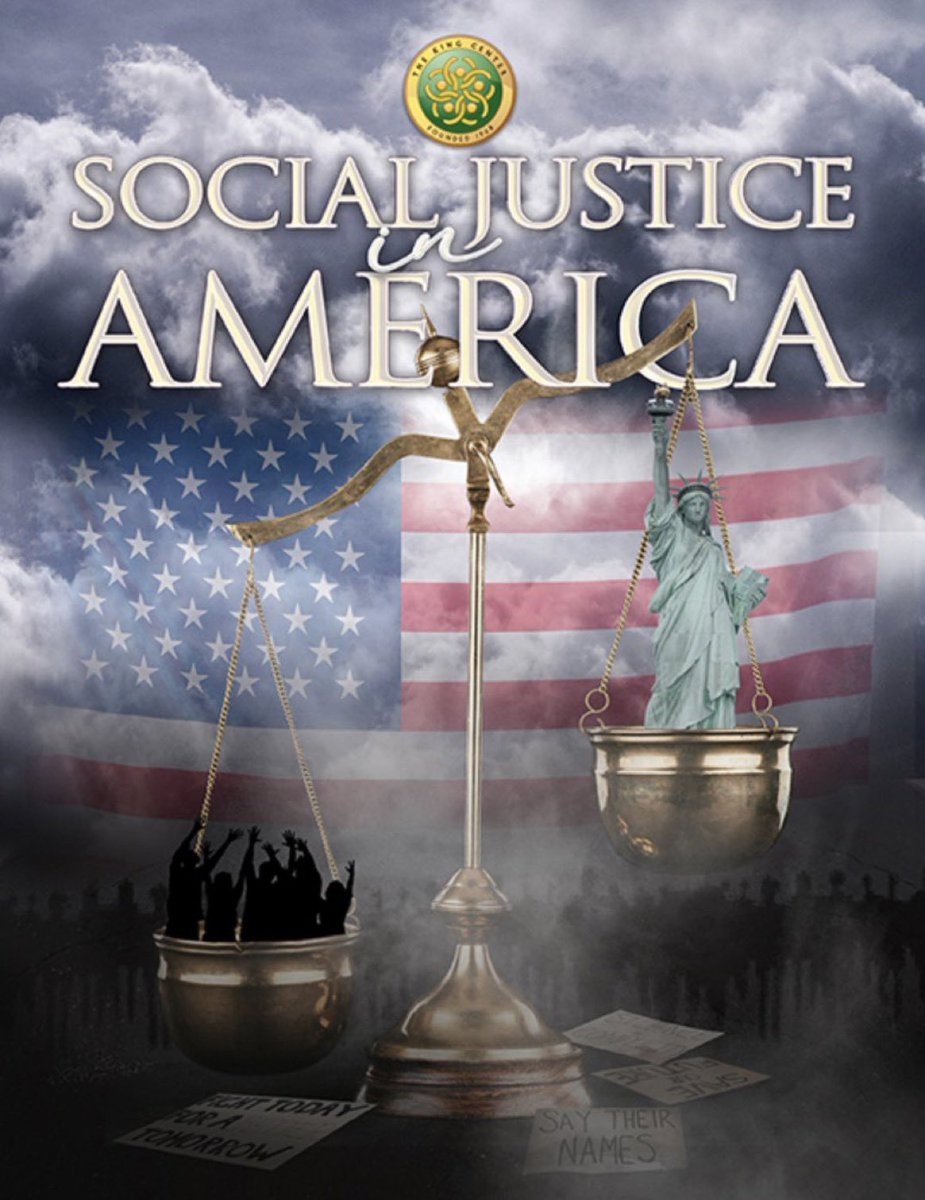 Be sure you, your friends and your family have our special collector's edition magazine, 'Social Justice in America.'   Order here: .   #WomensHistoryMonth #BelovedCommunity #BeLOVE #Justice #BlackHistory365