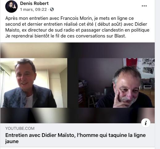 Robert et Maïsto contre les «connards décérébrés» de Chouard
