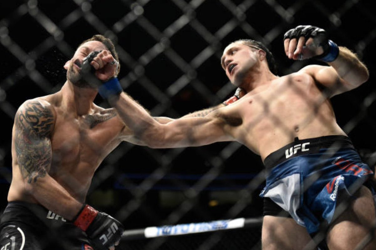 Mar3.2018  3 years ago today,  Brian Ortega became the first fighter in history to finish Frankie Edgar. https://t.co/D1vJRESr1v