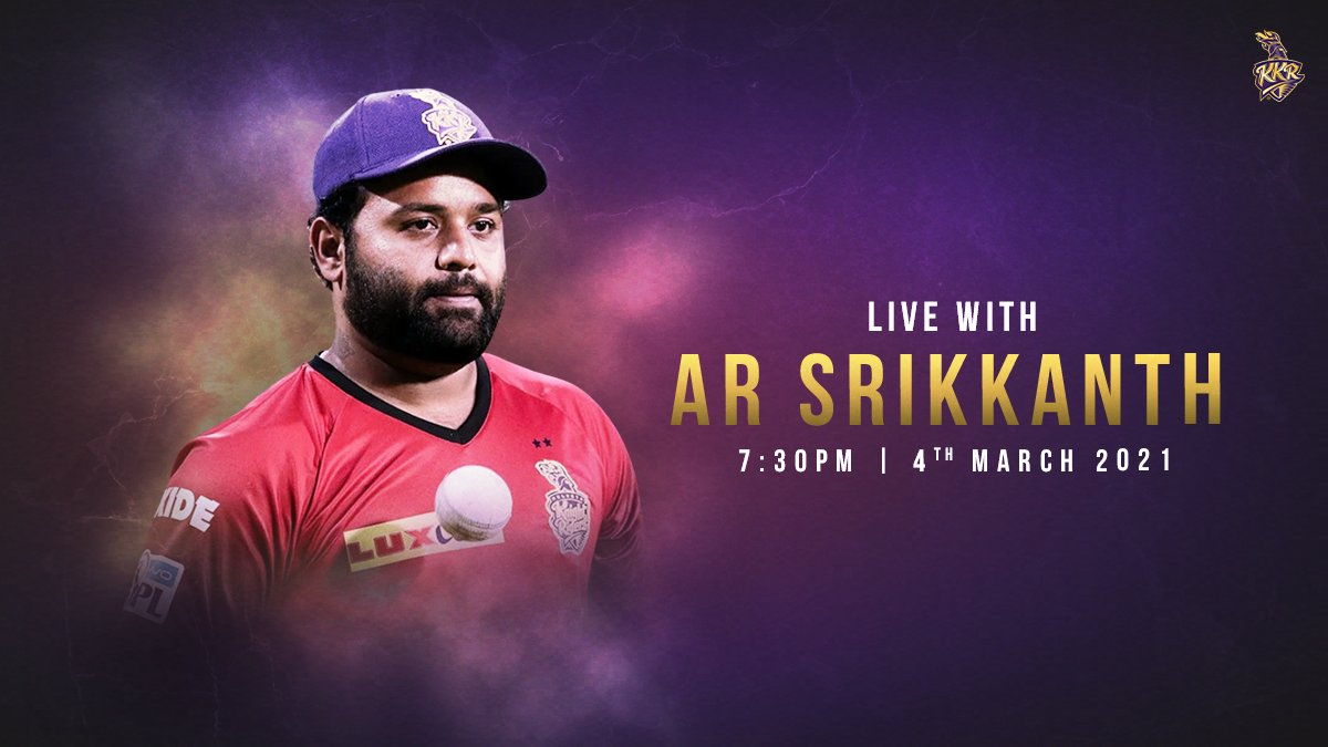 Live on Instagram with @arsrikkanth  #ToofaniFans, this is your chance to get insights on our new recruits, #IPLAuction strategies and more..  Ask your questions in the comments, and we will feature the best ones in the session👇   #KKR #HaiTaiyaar