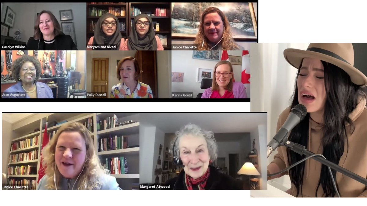 test Twitter Media - Thank you @JaniceCharette & @CanadianUK for stellar #IWD21 panel on the theme of #BuildBackFeminist with @karinagould @JeanAugustine07  #CarolynWilkins (@bankofcanada) @theworldwithmnr @PollyRussell1 plus thought-provoking talk with @MargaretAtwood & showstopper with @shawneekish https://t.co/DOQk8PNxio