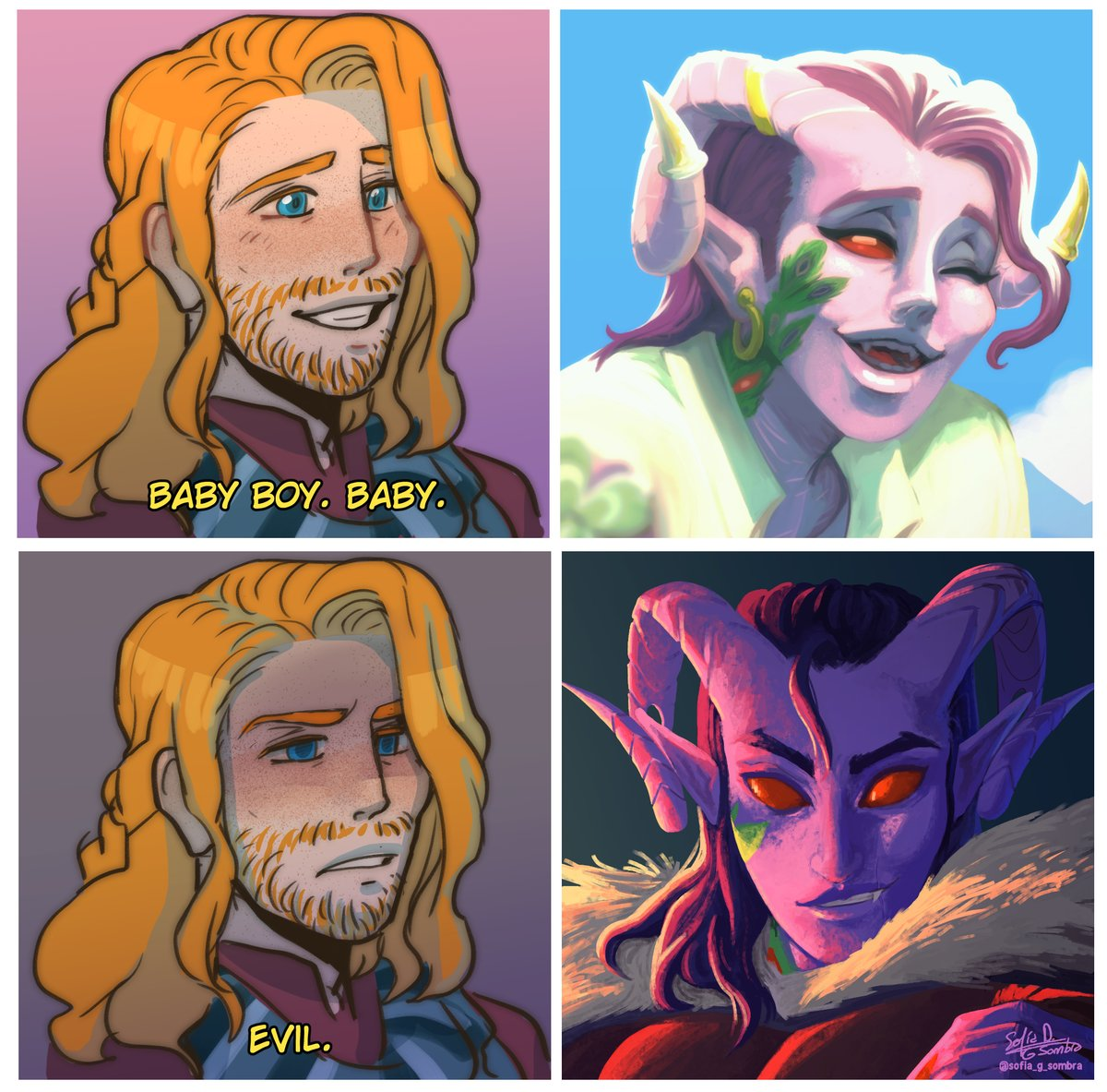 He can be your angle...or yuor devil #calebwidogast #lucien #mollymauktealeaf #criticalrole #criticalrolefanart