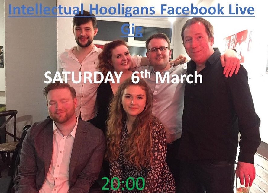 Join us Saturday for improv hilarity and hi-jinks!  Follow to the show:   Donate for work:   #improv #comedy #norwich #norfolk #improvcomedy #funny #laugh #laughter #smile #saturday #saturdayvibes #saturdaynight #show #joinus #best