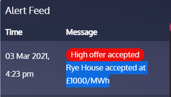 Prices in the Balancing Mechanism just hit £1000 again. Isnt decarbonisation wonderful! Money no object!
