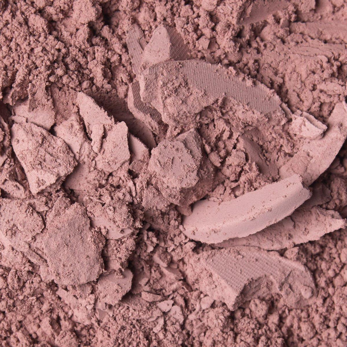 CREAMY MAUVE: A matte dusty rose shade in the Matte Mauve Pressed Powder Palette