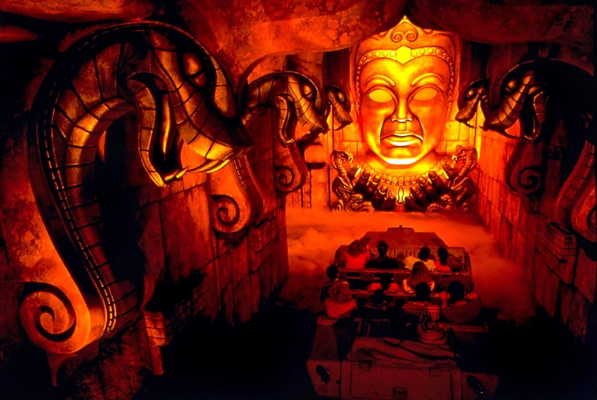On this day in 1995, we began exploring the Temple of the Forbidden Eye when Indiana Jones Adventure opened at Disneyland.