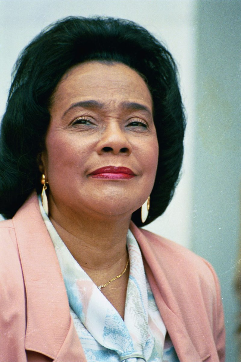 March 3: Beside the King was always a Queen. An accomplished musician, activist & leader, #CorettaScottKing worked as a public mediator & liaison to peace & justice organizations in the 50s and 60s. She worked to pass the 1964 Civil Rights Act and founded the @TheKingCenter #WHM