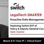 Image for the Tweet beginning: Don't miss the #LegalTechSmarter presentation: