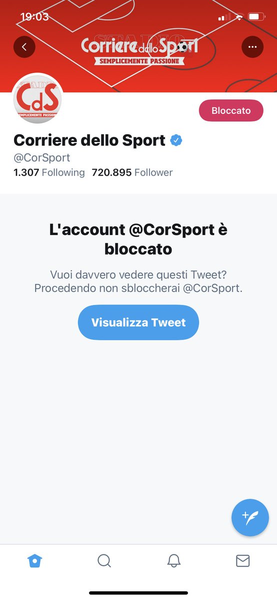 #bloccaCorSport