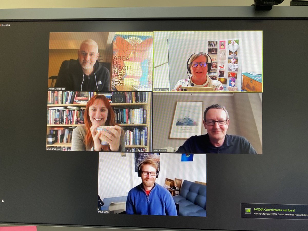 test Twitter Media - @JulianMcDougall @CEMPBU @VirtualSarahJ @daveowhite and @JohnPP virtual panel today to discuss the role of 'universities now' for Julian's forthcoming book ... thinking about Newman's approach as our starting point https://t.co/Zkt6r7SwmT https://t.co/JyhhJBql3K