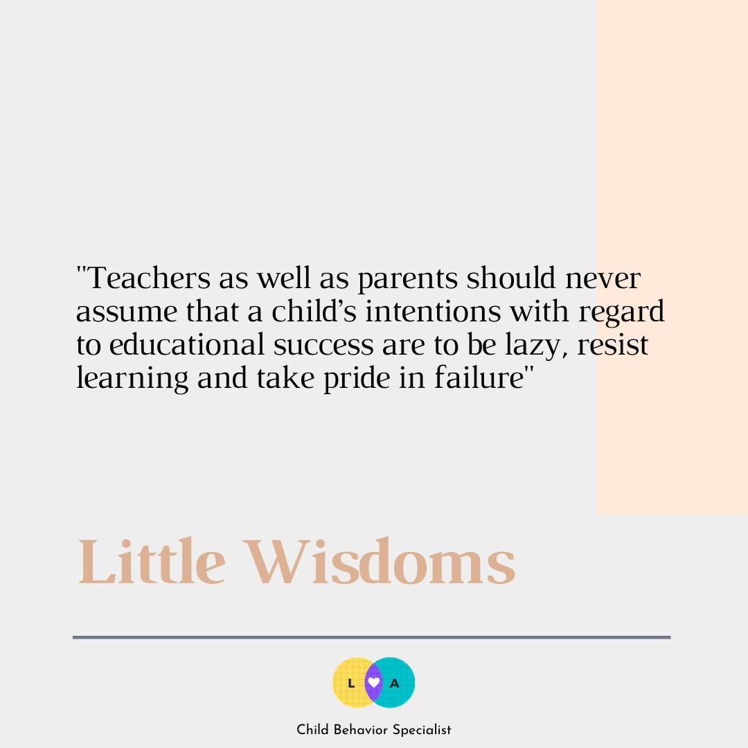 Instead of having the child adapt to you, find ways for you, as a parent or teacher, to adapt your learning to them.  #gentleparenting #teachers #teaching #school #consciousparenting #sahm #sahmlife #education #teach #children #kids https://t.co/yOGehjdfXI