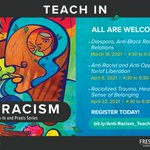 Image for the Tweet beginning: Join us for our Anti-Racism