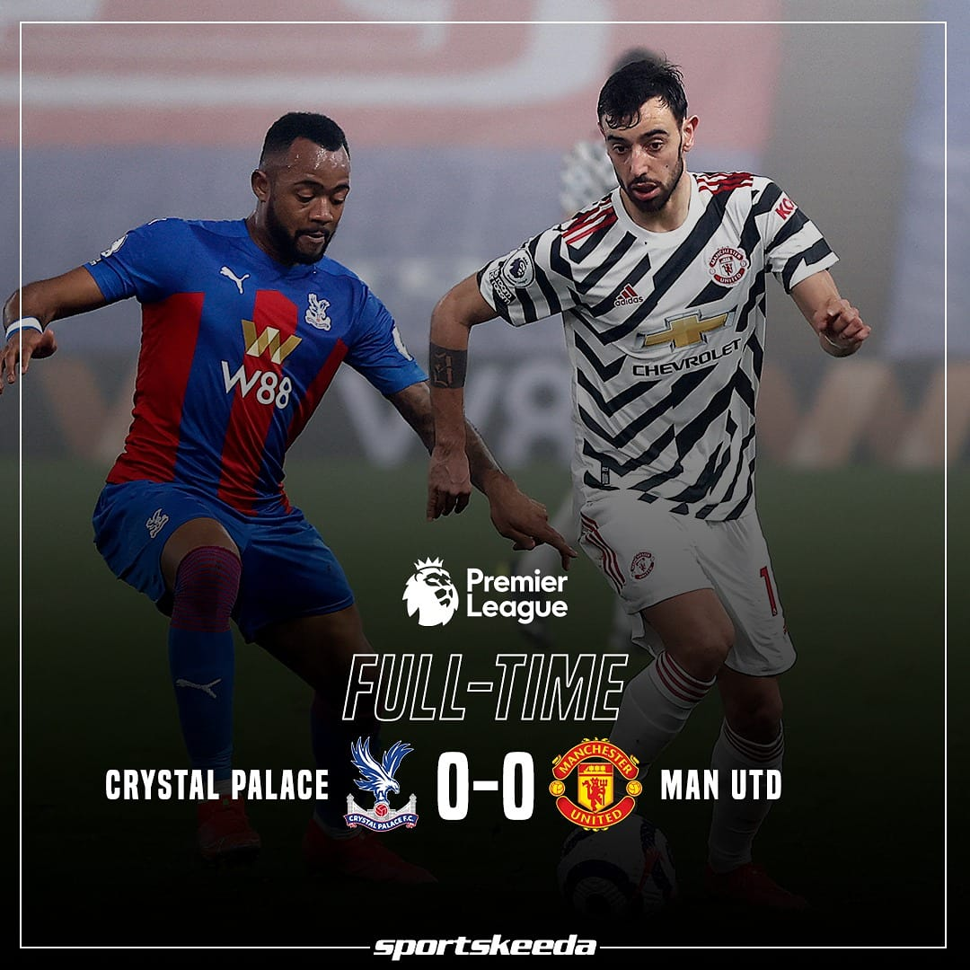 A goalless draw between Crystal Palace and Manchester United! 🔴⚪  #CRYMUN #ManchesterUnited #ManUtd