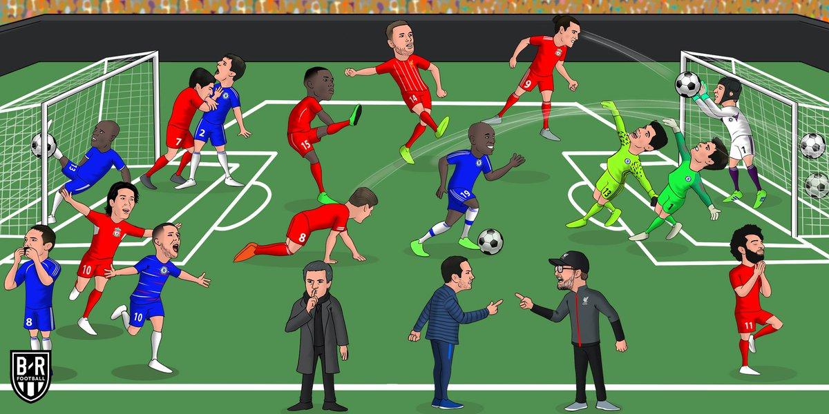 Liverpool vs. Chelsea is always wild 💥 https://t.co/hpRKUXAQAQ