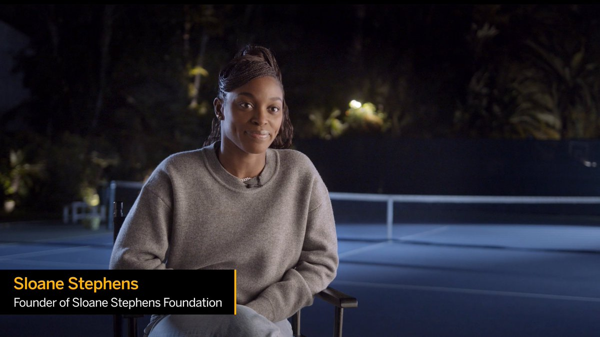 Dream big, achieve bigger. Hear from @SloaneStephens as she proudly announces her partnership between @SAP and the @SS_FDN.