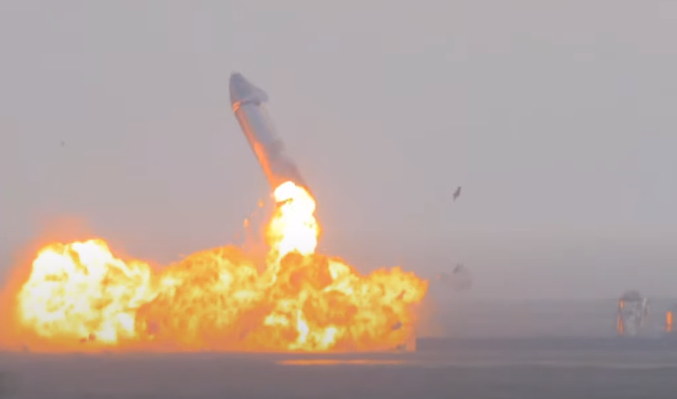 В США взорвался очередной SpaceX