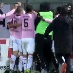 Image for the Tweet beginning: Il Palermo balla con Santana,