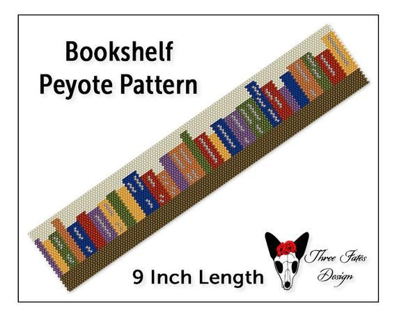 Bookshelf Peyote Bracelet Pattern Two Drop Even Count Beaded | Etsy https://t.co/uHQMqfDAp1  #books #library #teacher #threefatesdesign #etsyshop #beaded #bracelet #pattern #diy #bookmark https://t.co/SNE4J75hZX