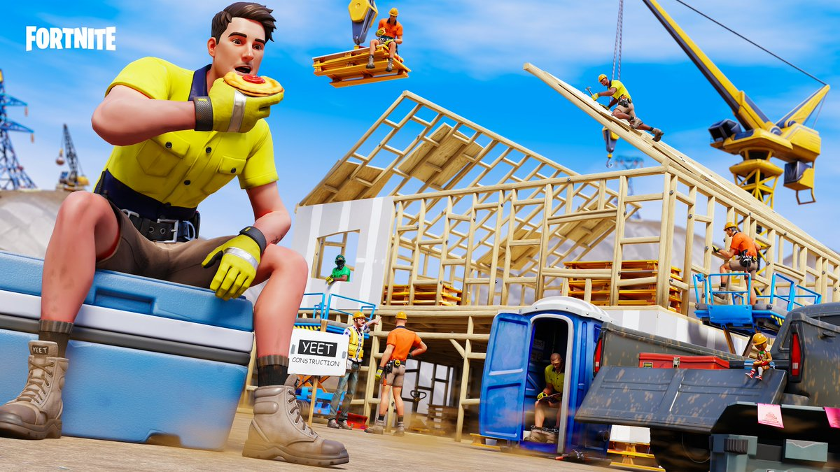 """""""I'm on Smoko""""  Absolutely love the new Lazarbeam skin and how sick it is that a tradie is in the game so I had to make a piece with it and I'm so happy with how it turned out!  Support is appreciated 💜 https://t.co/erA6Ou5QH4"""