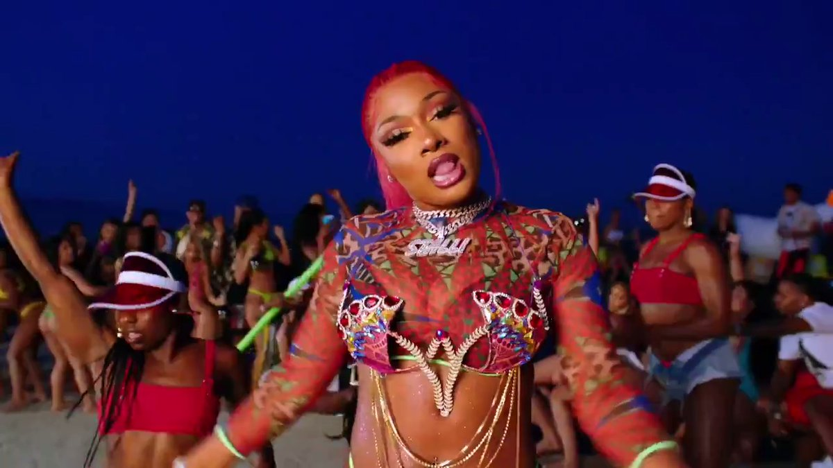 """After coining the term """"hot girl summer,"""" + sparking a viral movement, @theestallion joined forces w/ @NICKIMINAJ and @TyDollaSign for the first time collab.   It's the first standalone single after her breakout mixtape, 'Fever.'  #WomensHistoryMonth:"""