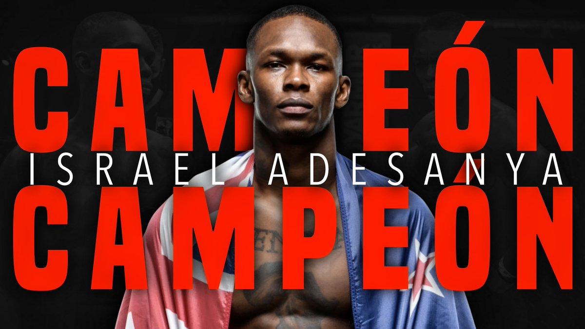 En #UFC259 Israel Adesanya (@stylebender) busca convertirse en el quinto doble campeón del #UFC pero en el intento podria convertirse en el primero en lograrlo estando invicto.   ▶️: