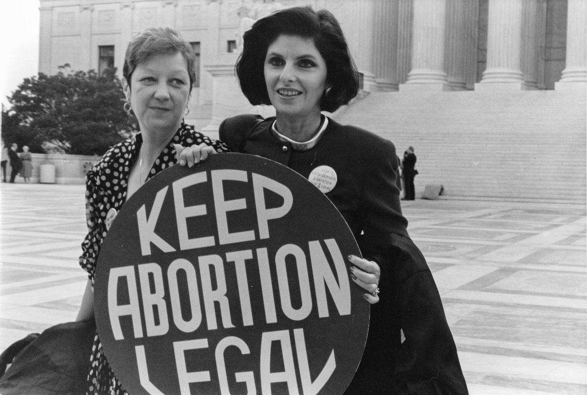 "On #thisdayinsex, March 3, 1970, the lawsuit that eventually became ""Roe vs Wade"" at the Supreme Court was first filed in Texas. #roevwade #roevswade #abortion #scotus"